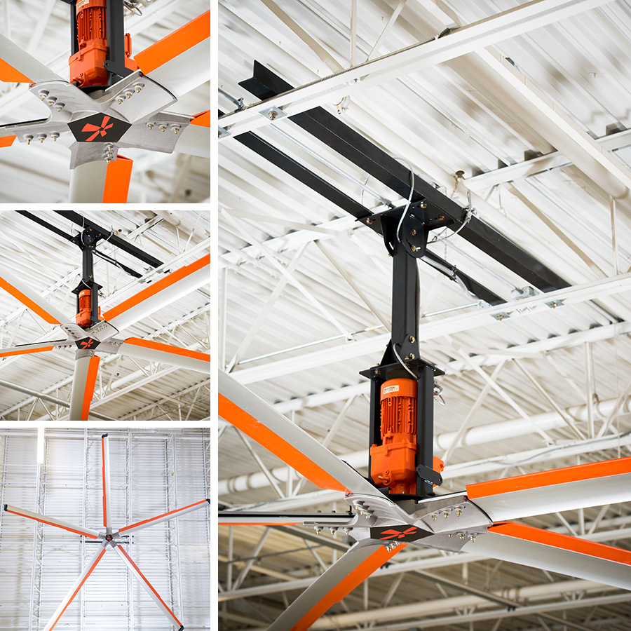 Z Tech Hvls Industrial Ceiling Fan Go Fan Yourself