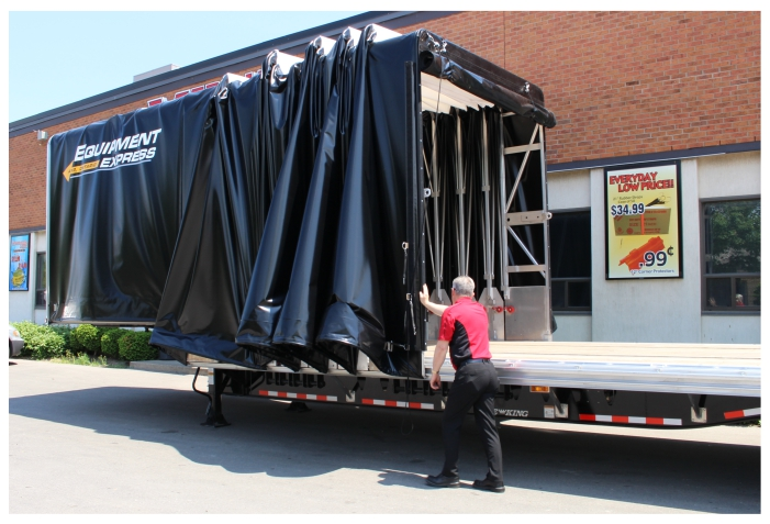 Step Deck Tarp Systems Commercial Tarps For Trucking